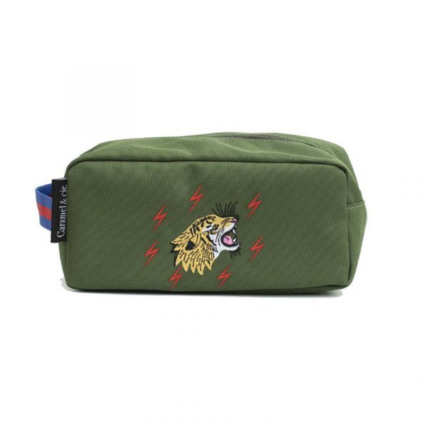 Caramel & Cie Beauty Bag Grr Green