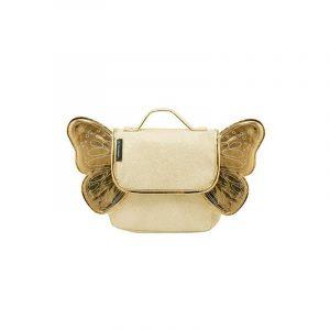 Caramel & Cie Zaino Butterfly Gold